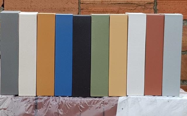 colored mechanical bricks