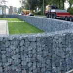 GABIONS FILLED WITH NATURAL STONE