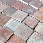 OLD RED HAND MADE TERRACOTTE TILES