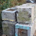 OLD BELGIAN GRANITE FOOT STONE